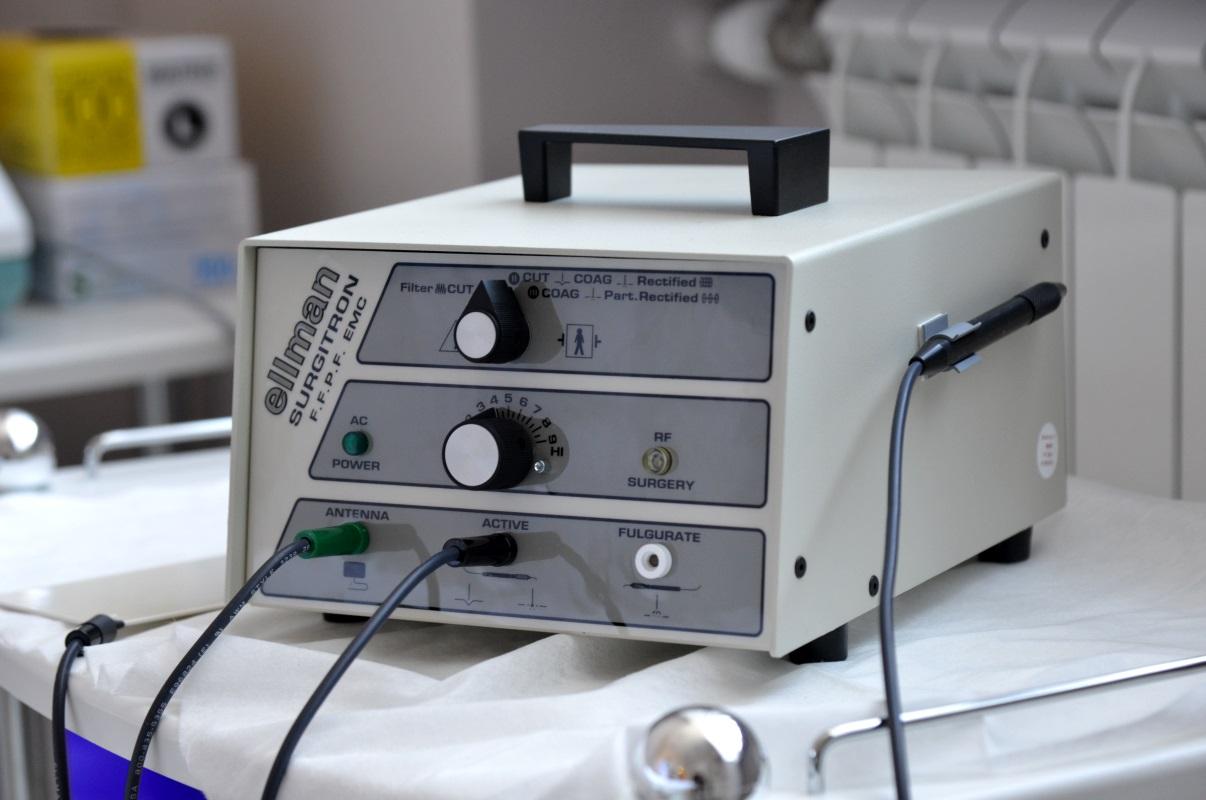 Сургитрон аппарат для удаления геморроя